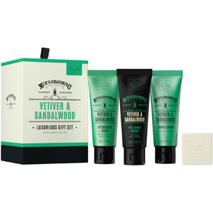 Vetiver & Sandalwood Luxurious Gift Set