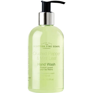 Scottish Fine Soaps - Crushed Pepper & Mint Leaf Hand Wash
