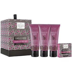 Scottish Fine Soaps - Tangled Rose Luxurious Gift Set