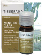 Tisserand Aromatherapy - Vaporisation Essential Oil Blend - Menthol Clear