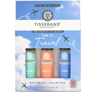 Tisserand Aromatherapy - Time To Travel Roller Ball Collection (Blue)