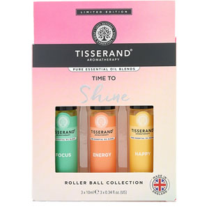 Tisserand Aromatherapy - Time to Shine Roller Ball Collection
