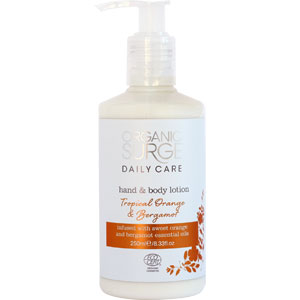 Organic Surge - Tropical Orange & Bergamot Hand & Body Lotion