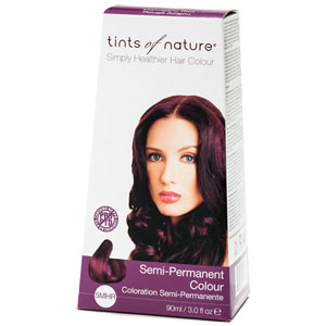 Tints of Nature - Semi-Permanent Hair Colour - 5MHR Mahogany Red