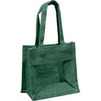 Jute Gift Bag - Forest Green|1.8500|1.8500