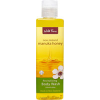 Wild Ferns New Zealand Manuka Honey - Manuka Honey Revitalising Body Wash