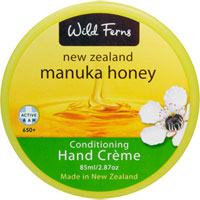 Wild Ferns New Zealand Manuka Honey - Manuka Conditioning Hand Crème