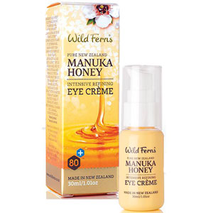 Wild Ferns Pure New Zealand - Manuka Honey Intensive Refining Eye Crème