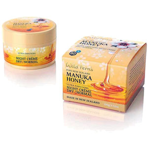 Wild Ferns - Manuka Honey Ultra Enriching Night Crème