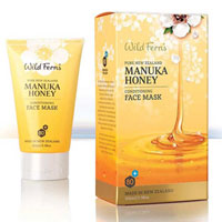 Wild Ferns Pure New Zealand - Manuka Honey Conditioning Face Mask