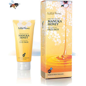 Wild Ferns Pure New Zealand - Manuka Honey Rejuvenating Face Pack