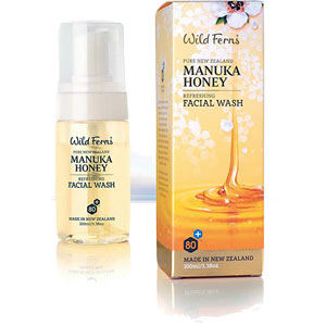 Wild Ferns Pure New Zealand - Manuka Honey Refreshing Facial Wash