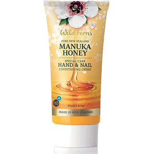 Wild Ferns Pure New Zealand - Manuka Honey Special Care Hand & Nail Conditioning Crème
