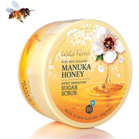 Wild Ferns Pure New Zealand - Manuka Honey Sweet Sensation Sugar Scrub