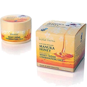 Wild Ferns Pure New Zealand - Manuka Honey Rebalancing Night Crème