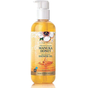 Wild Ferns Pure New Zealand - Manuka Honey Revitalising Shower Gel
