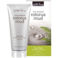 Wild Ferns New Zealand Rotorua Mud - Rotorua Mud Face Pack