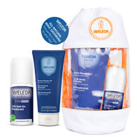 Weleda - All Natural Male Grooming Wash Bag