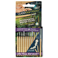 Woobamboo - Assorted Interdental Brush Picks