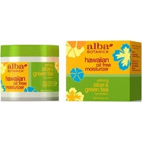 Alba Botanica - Hawaiian Oil Free Moisturiser - Aloe & Green Tea