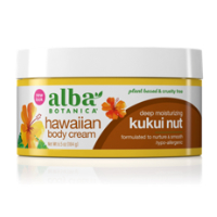 Alba Botanica - Hawaiian Body Cream - Kukui Nut
