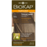 BioKap - Nutricolordelicato Permanent Hair Dye - Swedish Blond 7.10