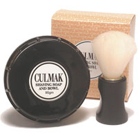 Culmak - Shaving Soap and Bowl Gift Set