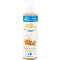 Grahams Natural - Manuka Honey & Coconut Body Wash