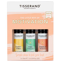 Tisserand Aromatherapy - The Little Box of Motivation